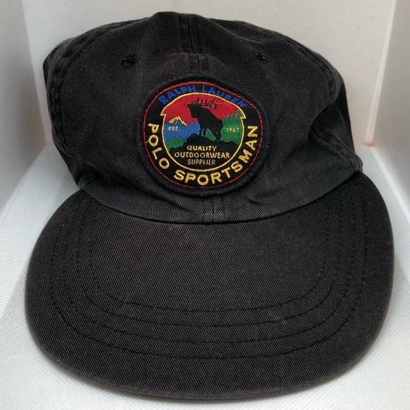 eee8a60fb Vintage Ralph Lauren Polo Sportsman Cap